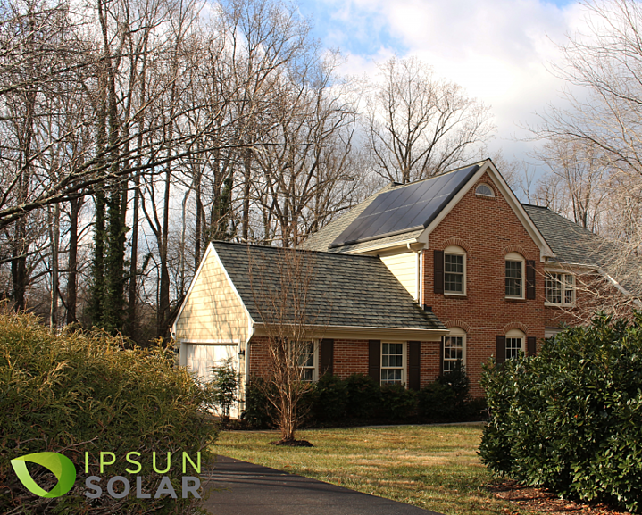 How does the tax credit for solar panels work?