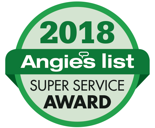 Two-time Angie's list Superior Service Award