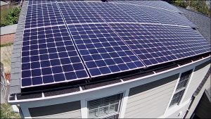 Solar is cash flow positive on day 1 when...