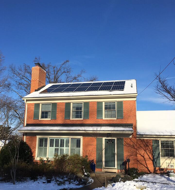 Should I remove the snow from my solar panels?