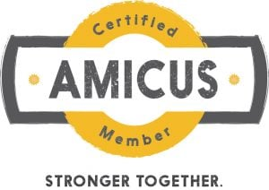 Our membership in Amicus saves customers money