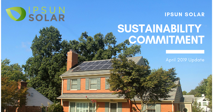 Earth Month: Ipsun Solar's Sustainability Commitment