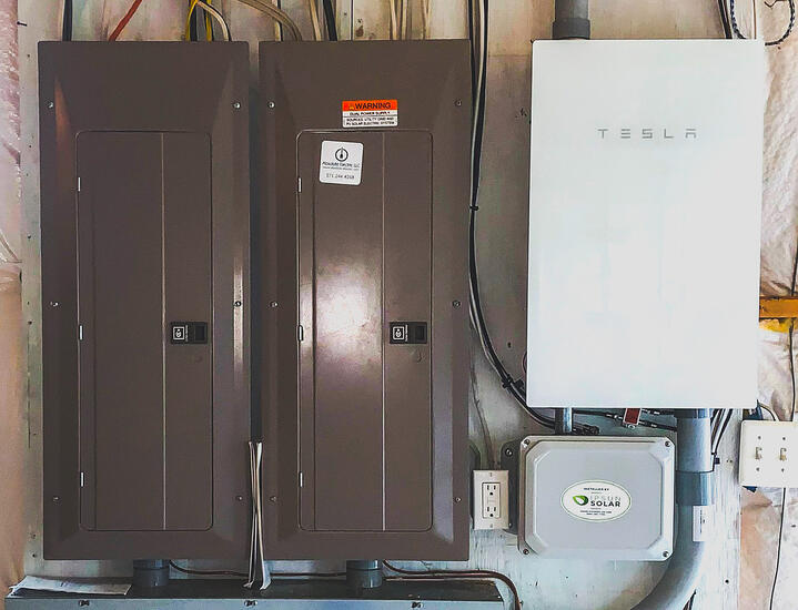 How Does Tesla Powerwall Work if I Have Two Main Service Panels?