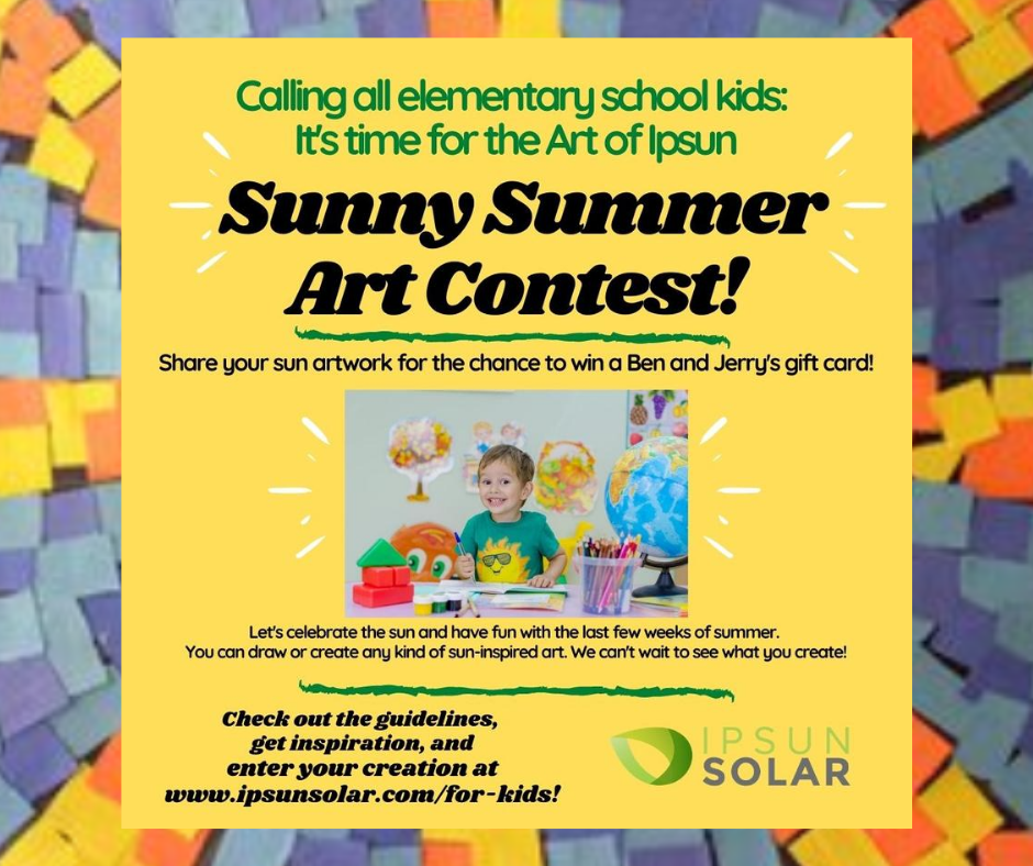 Enter the Ipsun Sunny Summer Art Contest!