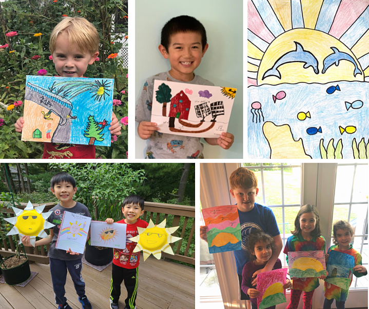 Ipsun's Sunny Summer Art Contest winners learn about solar energy and win ice cream!