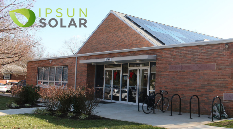 ARL Now reports on solar at Nauck church