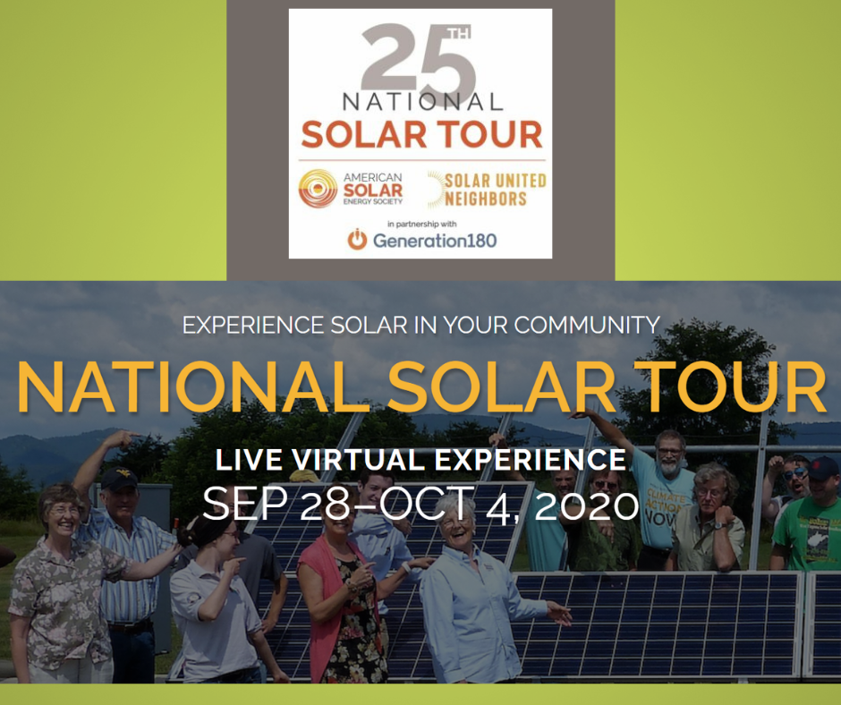 The National Solar Tour Starts Today!