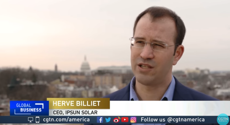 CGTN News: Ipsun Solar on Impact of Tariffs